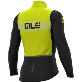 Alé Cycling PR-S Logo DWR Maillot À Manches Longues Homme, fluo yellow/black